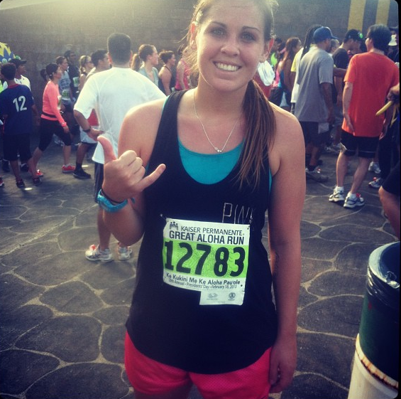 My last 12K race - the most fun I've ever had running!