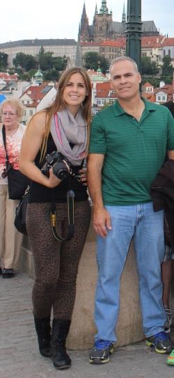 My Dad & I in Prague!